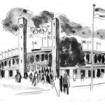 1997 Ernst Leonhardt Berliner Stadtmotiv – Olympiastadion